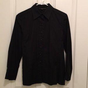Louis Vuitton Black Button Down Shirt